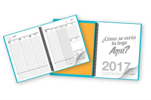 Agenda personalizada 2017