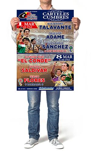 Impresión de Poster o Carteles para expos o eventos.