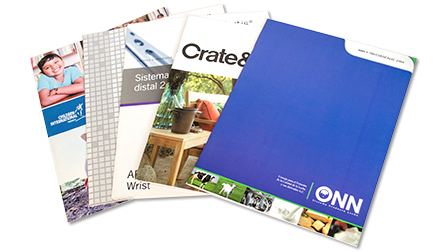 Impresión de revistas y/o catálogos