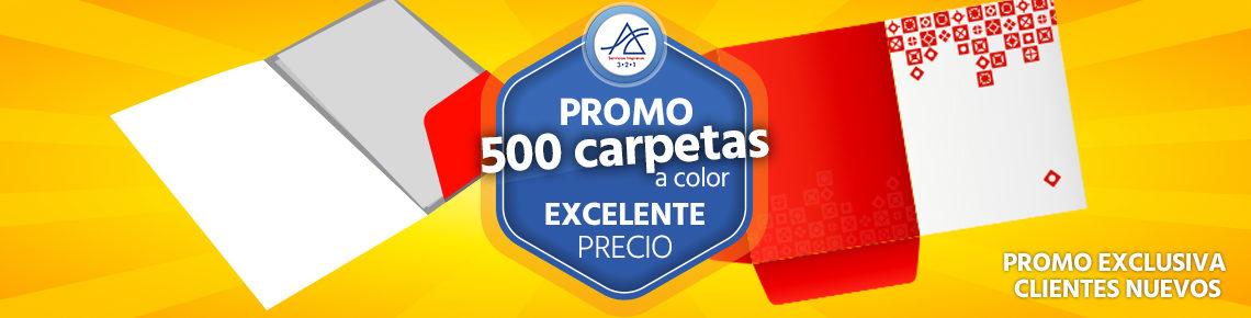 Promoción de impresión de carpetas o folder personalizados a color