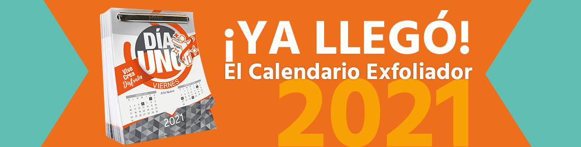 Calendario Exfoliador 2021