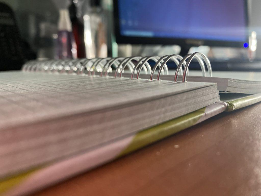 Cuaderno o libreta impresa en offset